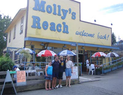 Visiting Molly's Reach